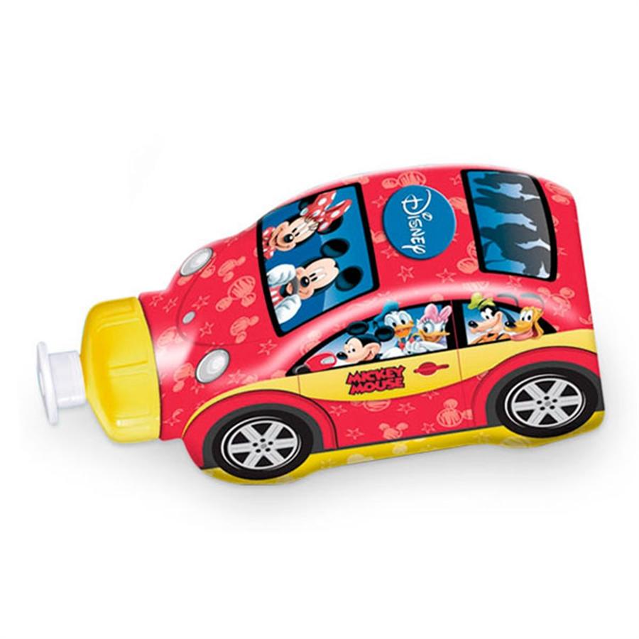 Garrafa Sleeve Carrinho Mickey e Minnie 550ml