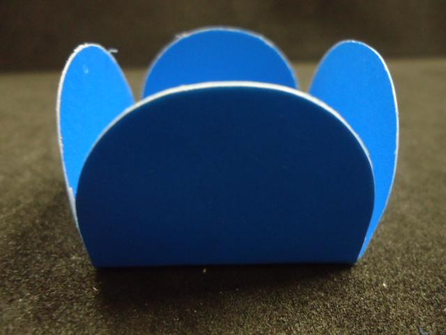 Caixeta de Papel Azul